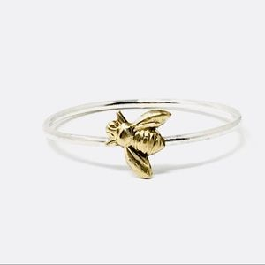 🐝 Sterling silver Bee Ring .